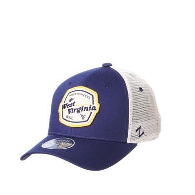 West Virginia Zephyr Silverton Patch Trucker Hat