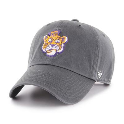 LSU 47' Brand Vault Cartoon Tiger Clean Up Adjustable Hat