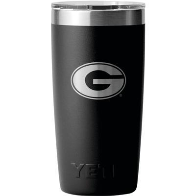 Georgia Yeti 10 oz G Logo Lowball Rambler