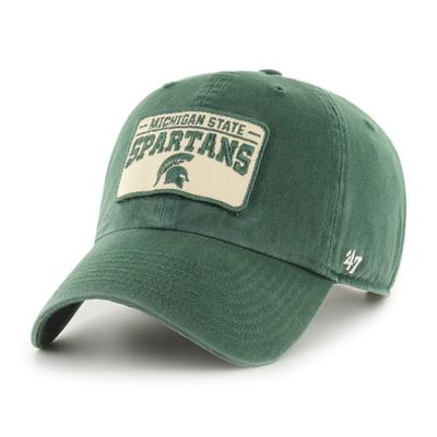 Michigan State 47' Brand Clean Up Patch Adjustable Hat