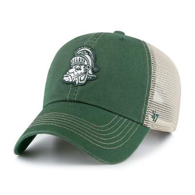 Michigan State 47' Brand Vault Trawler Mesh Snapback Hat