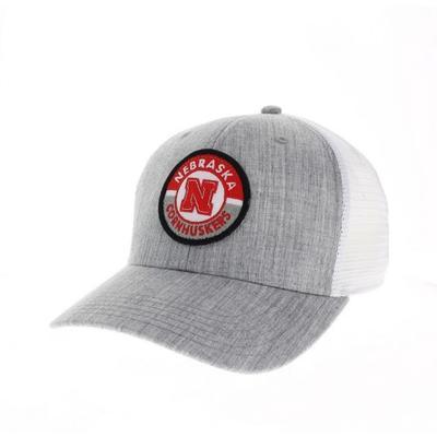 Nebraska Legacy Road Patch Trucker Hat