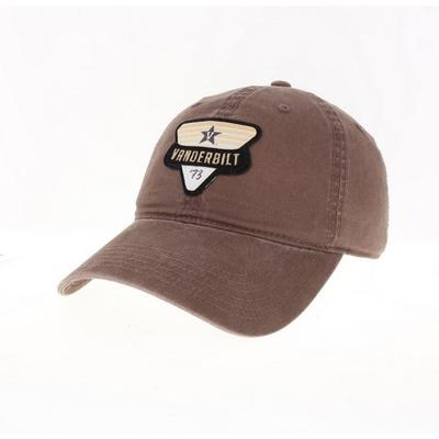 Vanderbilt Legacy Triangle Patch Adjustable Hat