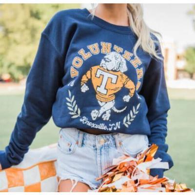 Tennessee Southern Made Smokey Strut Volunteers Crew Sweatshirt