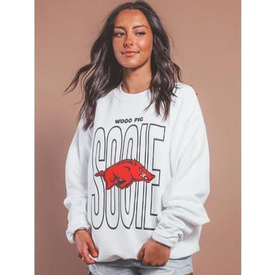 Arkansas Charlie Southern Sooie Block Sweatshirt