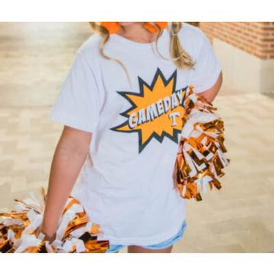 Tennessee Southern Made YOUTH Gameday Boom Pow Tee