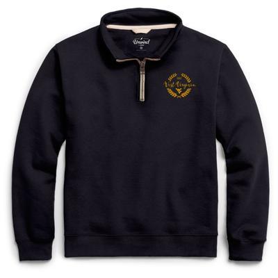 West Virginia League Essential Fleece 1/4 Zip Laurels Pullover