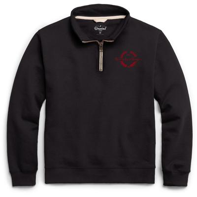 Georgia League Essential Fleece 1/4 Zip Laurels Pullover