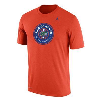 Florida Jordan Brand Official Ring Of Honor Tee - Orange