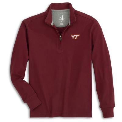 Virginia Tech Johnnie-O Brady 1/4 Zip Microfleece
