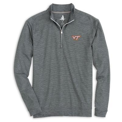 Virginia Tech Johnnie-O Vaughan 1/4 Zip