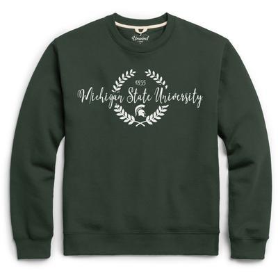 Michigan State League Fleece Laurels Pullover