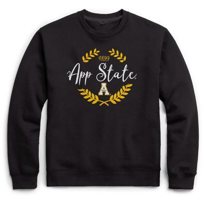 Appalachian State League Fleece Laurels Pullover