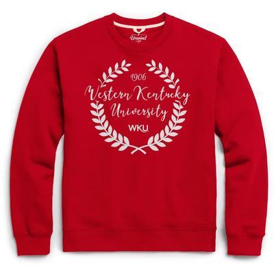 Western Kentucky League Fleece Laurels Pullover