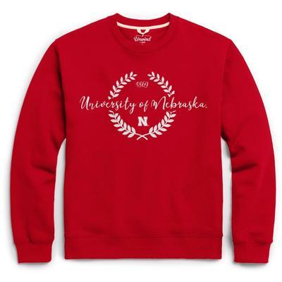 Nebraska League Fleece Laurels Pullover