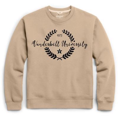 Vanderbilt League Fleece Laurels Pullover