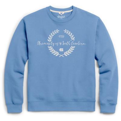 UNC League Fleece Laurels Pullover