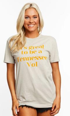Tennessee Stewart Simmons Vol Cheer Crew Tee