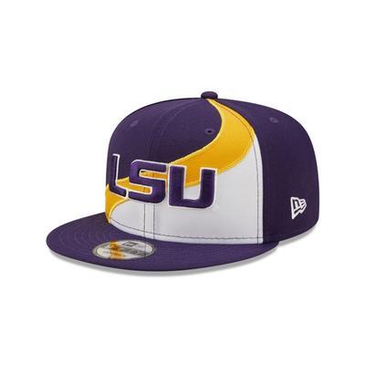 LSU New Era 950 Wave Flatbrim Hat