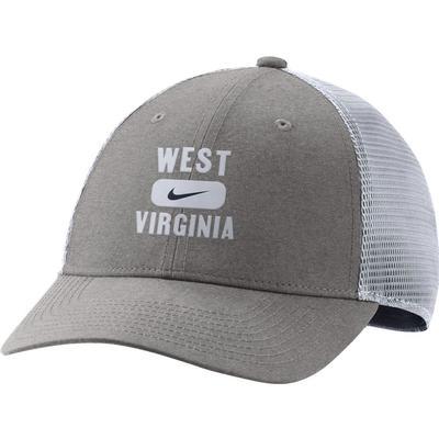 West Virginia Nike Men's L91 Seasonal Mesh Adjustable Hat