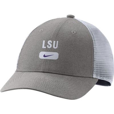 LSU Nike Men's L91 Seasonal Mesh Adjustable Hat
