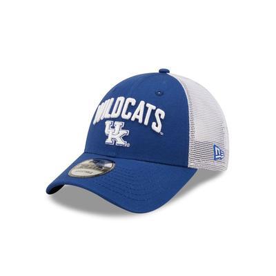 Kentucky New Era 940 Arch Wildcats Over Logo Trucker Hat