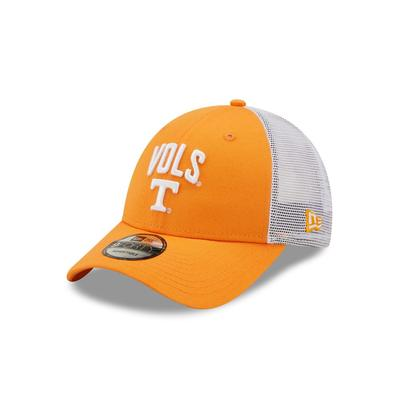 Tennessee New Era 940 Arch Vols Over Logo Trucker Hat