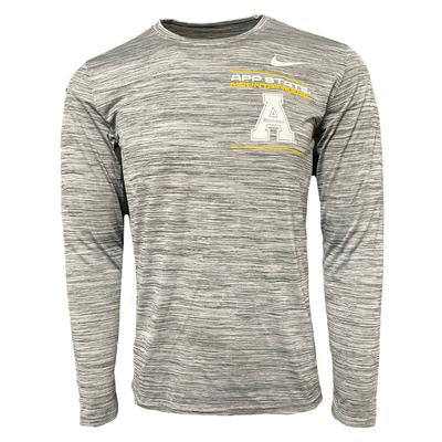 Appalachian State Nike Velocity Legend Long Sleeve Tee
