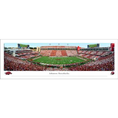 Donald W Reynolds Razorback Stadium Panorama Print