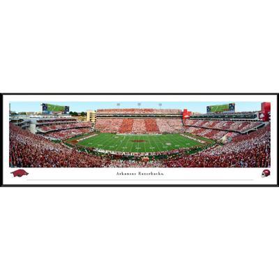 Donald W Reynolds Razorback Stadium Panorama Framed Print