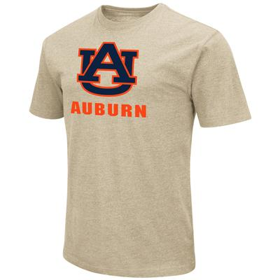 Auburn Colosseum Big Logo Over School Short Sleeve Tee