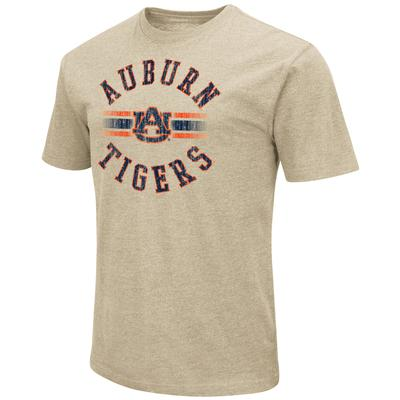 Auburn Colosseum Circle with Logo Short Sleeve Tee