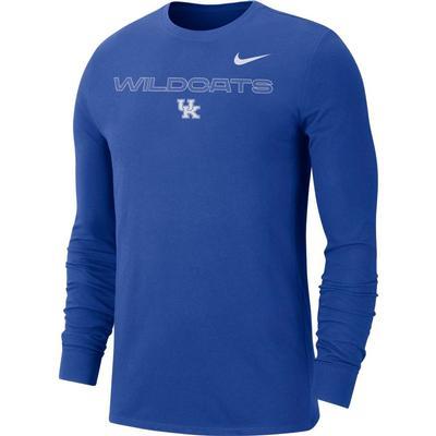 Kentucky Nike Men's Team Issue Long Sleeve Tee
