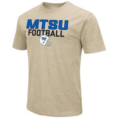 MTSU Colosseum Team Football Stack Over Logo Short Sleeve Tee