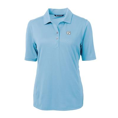 UNC Women's Cutter and Buck Virtue Ecopique Polo