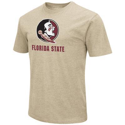 Florida State Colosseum Big Logo Over School Short Sleeve Tee