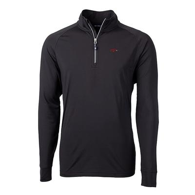Arkansas Cutter and Buck Adapt Eco Knit 1/4 Zip Pullover