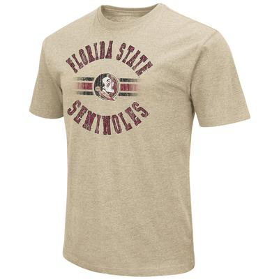 Florida State Colosseum Circle with Logo Short Sleeve Tee