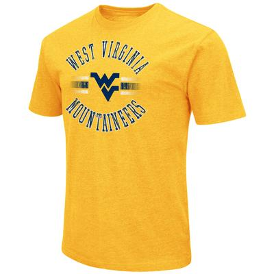 West Virginia Colosseum Circle with Logo Short Sleeve Tee
