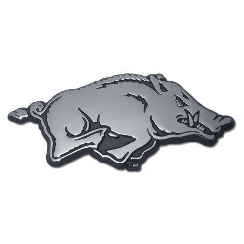 Arkansas Razorbacks Shiny Chrome Auto Emblem