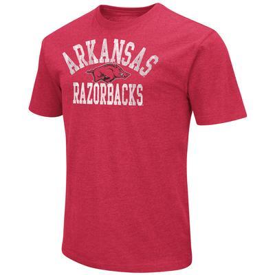 Arkansas Colosseum Arch Over Logo Short Sleeve Tee