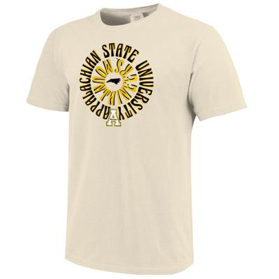 Appalachian State Retro Rounds Short Sleeve Comfort Colors Tee