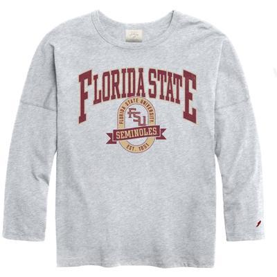 Florida State League Clothesline Oversized Long Sleeve Tee
