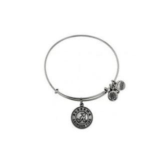 University Of Alabama® Alex and Ani Logo Charm Bangle