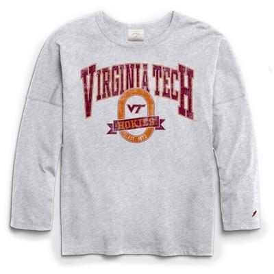 Virginia Tech League Clothesline Oversized Long Sleeve Tee