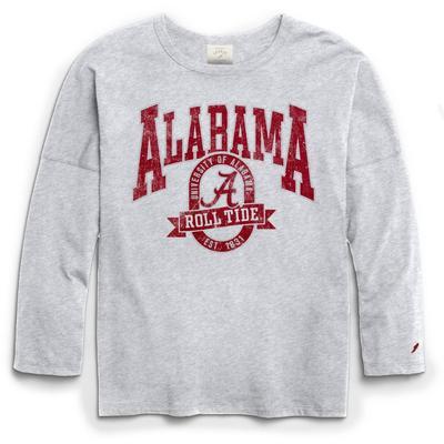 Alabama League Clothesline Oversized Long Sleeve Tee