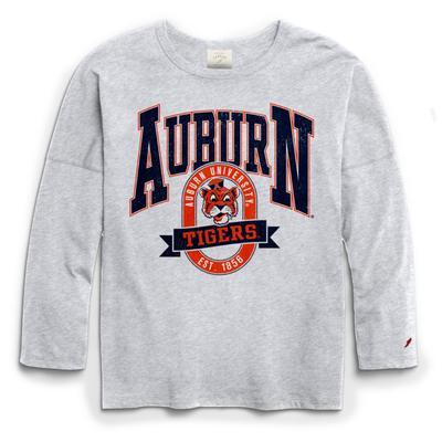 Auburn League Clothesline Oversized Long Sleeve Tee
