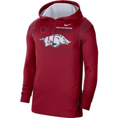 Arkansas Nike Men's Therma Hoodie