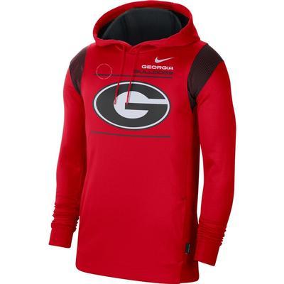 Georgia Nike Men's Therma Hoodie