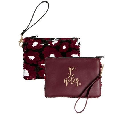 Florida State Claire Sequin Clutch